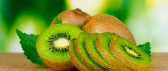 Киви и апельсины при сахарном диабете