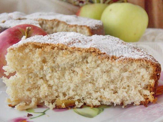 рецепт шарлотки при сахарном диабете